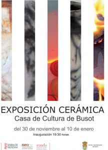 Exposición de cerámica en Busot