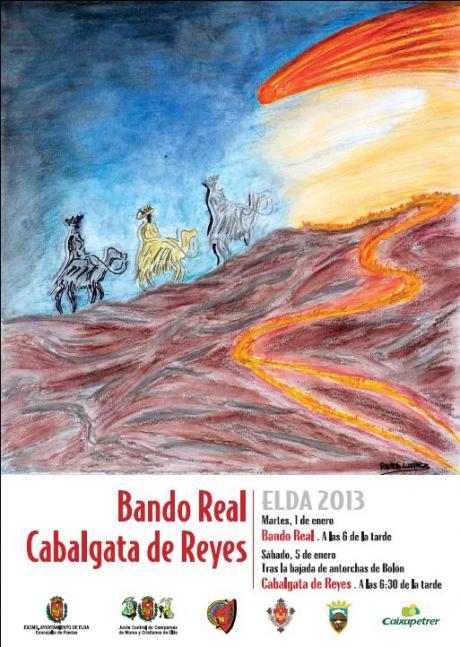 Cabalgata de Reyes y Paje Real Elda 2013