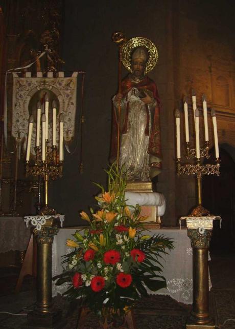 Festividad de San Blas de Vilafranca.