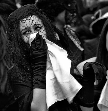 Fiesta: entierro de la sardina. Benissa 2013