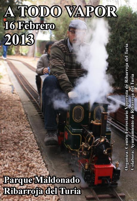 A todo vapor 2013