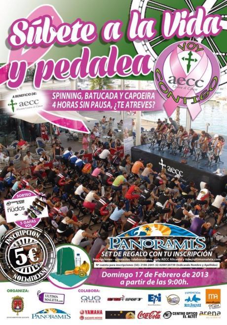 Súbete a la Vida y pedalea en Alicante.