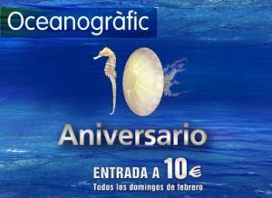 El Oceanogràfic cumple 10 años y lo celebra a lo grande