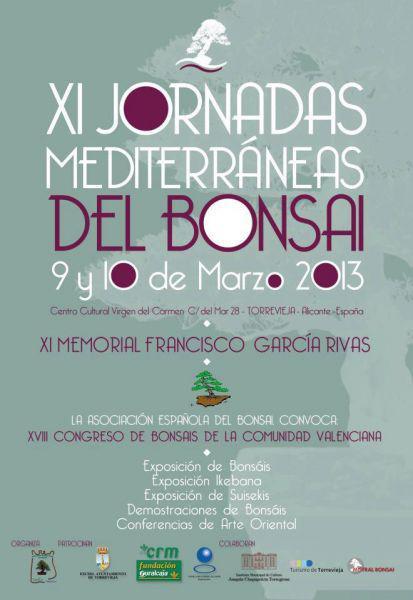 """""""XI Jornadas Mediterráneas del Bonsai"""""""