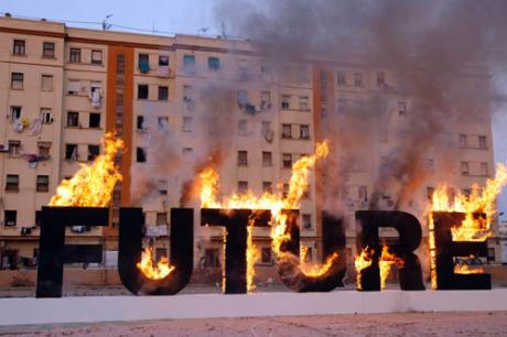 Fragmentos de un Año. Fotoperiodistas de Valencia 2012 en la  Sala Oberta y Claustro de La Nau de Valencia