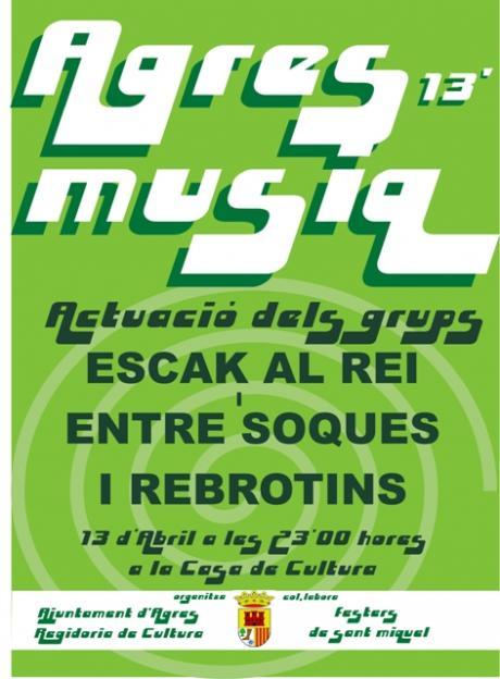 Feltival musical AGRESMUSIQ.