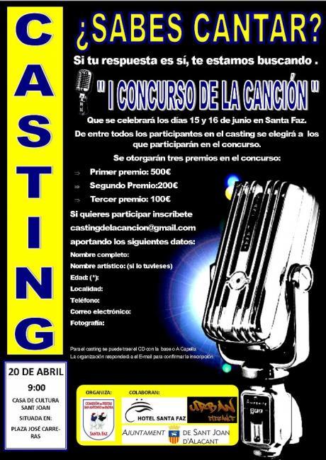 I Concurso de la Canción.