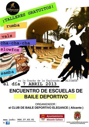 I Encuentro de Escuelas de Baile de Alicante 2013