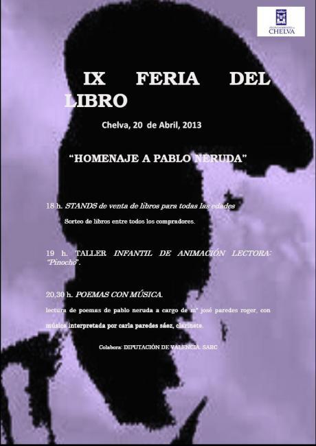 IX FERIA DEL LIBRO -CHELVA 2013