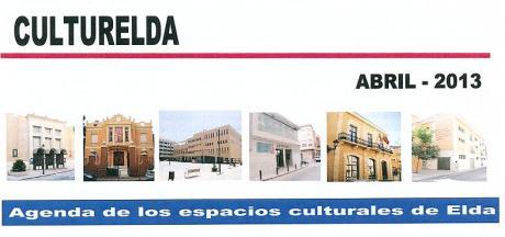 Agenda Cultural de Elda del mes de Abril