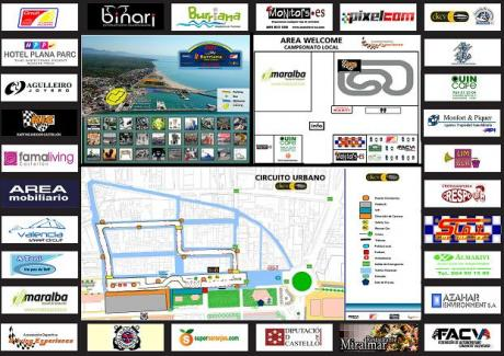 1er urban karting Burriana Port circuit