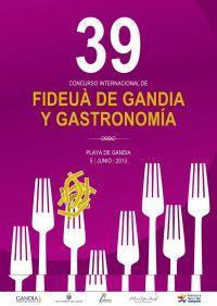 39º Concurso Internacional de Fideuà en Gandia