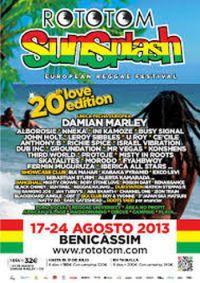 20º Rototom Sunsplash, reggae en el Mediterráneo