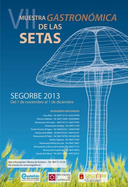VII Muestra Gastronómica de las Setas, Segorbe