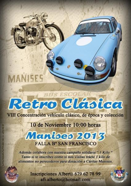 Retro Clásica -VIII Concentración vehículo clásico, de época y colección en Manises