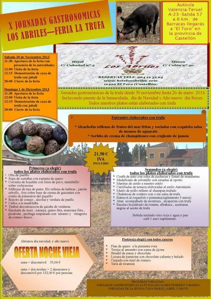 Xth Gastronomic days and the truffle`s fair