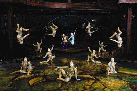 El Circo del Sol vuelve a Valencia con Alegría