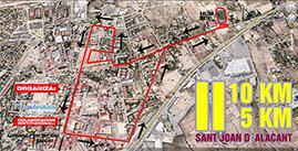 II Carrera de Navidad en San Juan de Alicante 2013
