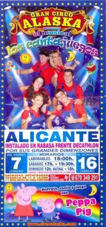 Gran Circo Alaska en Alicante
