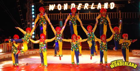 Gran Circo Wonderland os espera en Onda