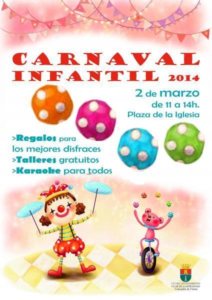 Carnaval infantil en Pilar de la Horadada