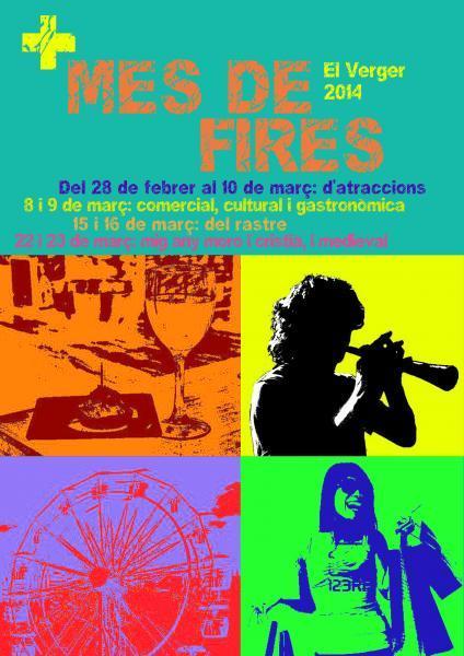 +MES DE FIRES EL VERGER 2014