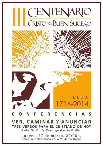 Conferencia III Centenario Cristo del Buen Suceso