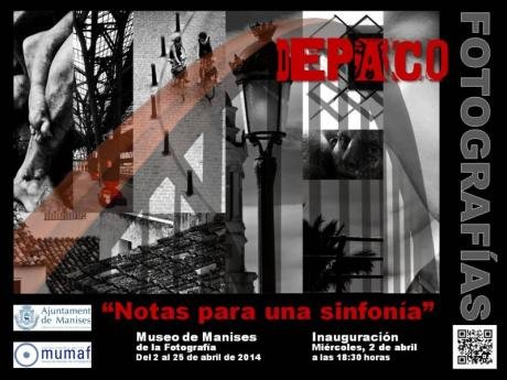 """Exposición Fotográfica """"Notas para una sinfonía"""" de Alonso de Paco"""
