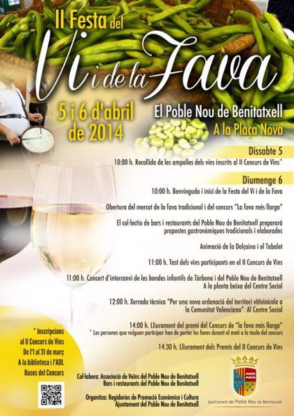 II Fiesta del Vino y de la Haba 2014