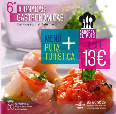 VI Jornadas Gastronómicas El Puig de Santa Maria