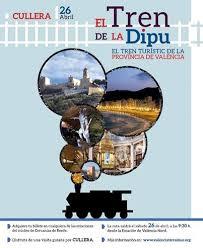 El tren de la Dipu. Tren turístico a Cullera.