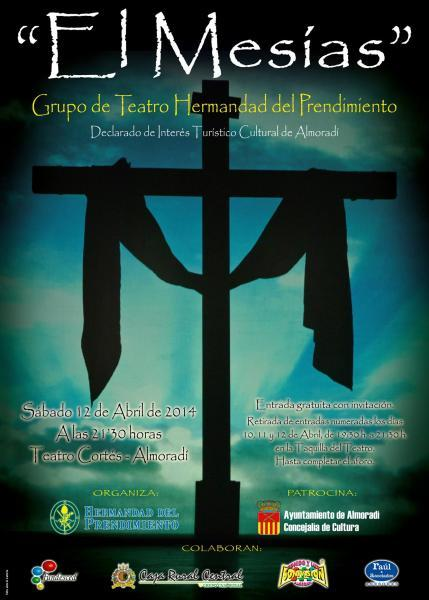 Representación El Mesías Almoradí 2014