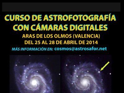 CURSO DE ASTROFOTOGRAFÍA CON CÁMARAS DIGITALES - Aras de los Olmos