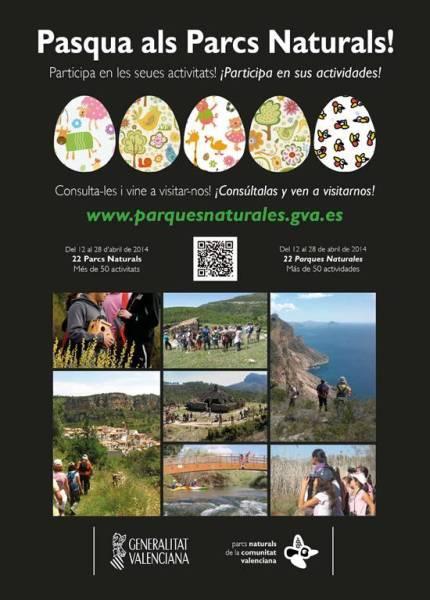 Pasqua als Parcs Naturals a la Comunitat Valenciana