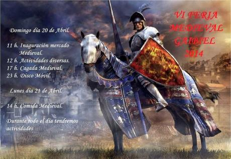 VI Feria Medieval en Gaibiel 2014