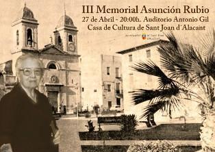 III Memorial Asunción Rubio en San Juan de Alicante 2014