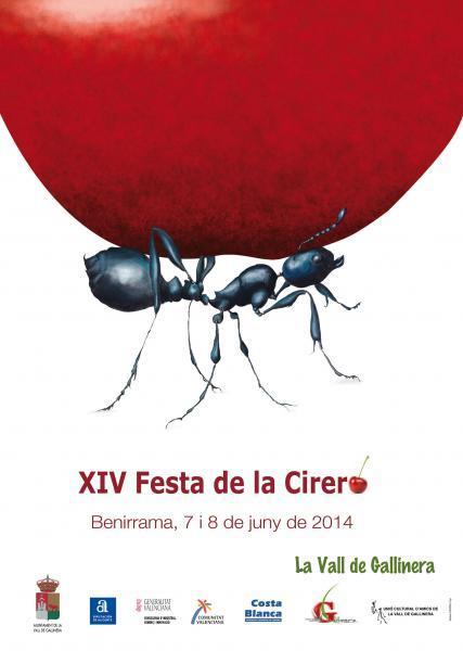 XIV Festa de la Cirera Benirrama 2014