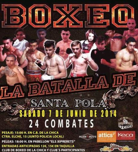 BOXEO. LA BATALLA DE SANTA POLA