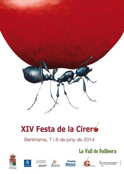 XIV Cherry Festival Benirrama 2014