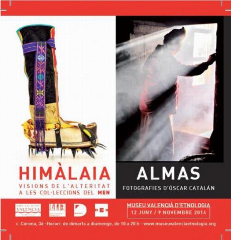 """Exposición de """"Himalaya"""" y """"Almas"""""""