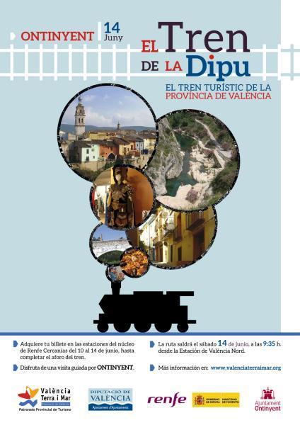 El Tren de la Dipu en Ontinyent