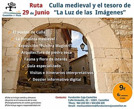 """Culla medieval y el tesoro de """"La Luz de las Imágenes"""""""