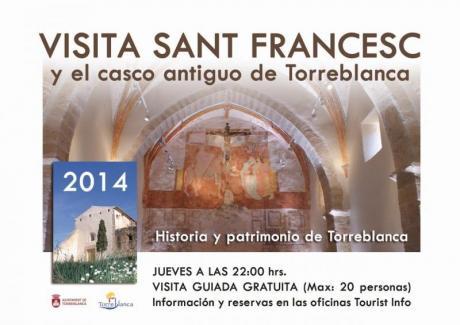 VISITA SANT FRANCESC Y EL CASCO ANTIGUO