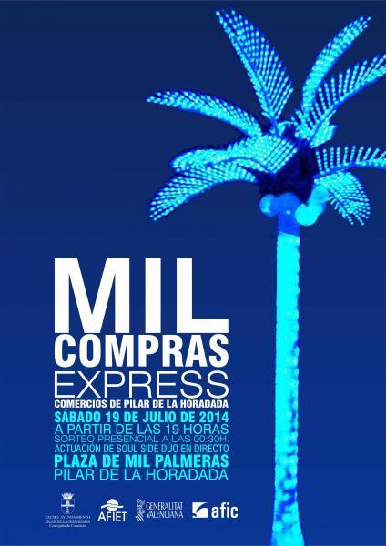 Mil Compras Express en Mil Palmeras (Pilar de la Horadada) 2014