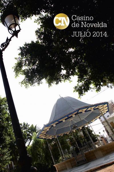 PROGRAMA DE FIESTAS CASINO DE NOVELDA 2014