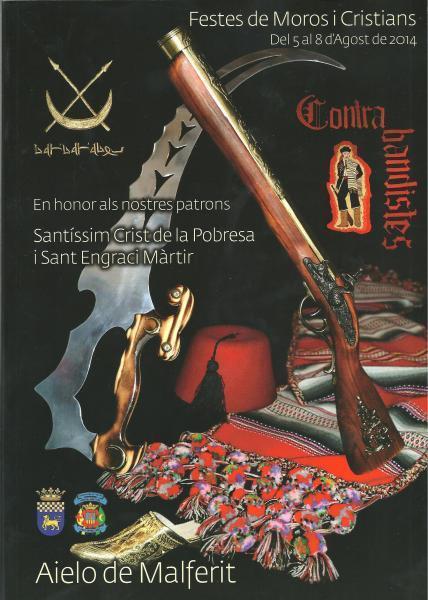 Fiestas Patronales y de Moros y Cristianos 2014 en Aielo de Malferit