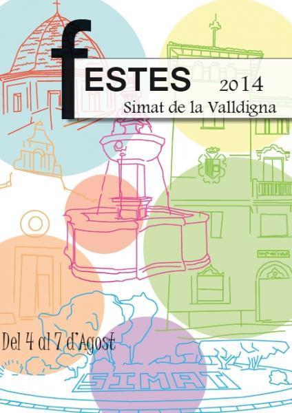 Programa de Fiestas en Simat de la Valldigna 2014