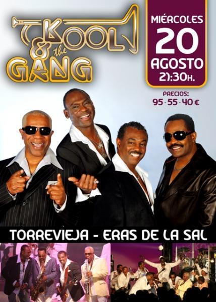 Kool and the Gang en Torrevieja
