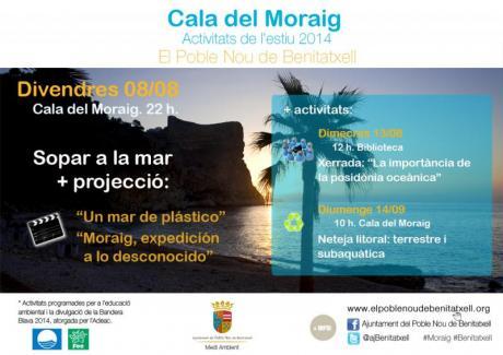 Cala del Moraig: Actividades verano 2014