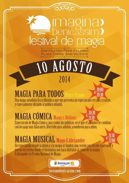 Festival de Magia - Imagina Benicàssim